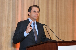 U.S. Attorney Preet Bharrara of the Southern District of New York delivers the Gala Keynote address.